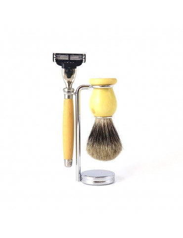3-part Set Mach3® Razor / Boxwood