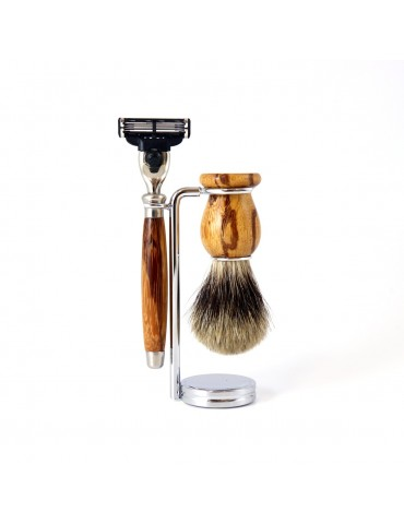 3-part Set Mach3® Razor / Snakewood