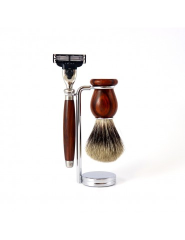 3-part Set Mach3® Razor / Cocobolo