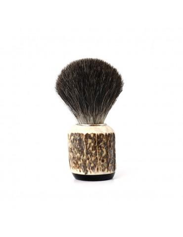Shaving Brush / Deer Antler / Grey