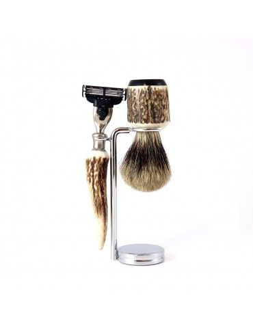 3-part Set Mach3® Razor / Deer Antler