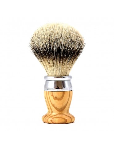 Shaving Brush / Olive Wood / Interchangeable head