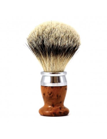 Shaving Brush / Thuja Wood / Interchangeable Head