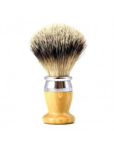 Shaving Brush / Boxwood / Interchangeable Head