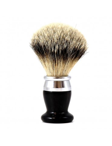 Shaving Brush / Ebony Wood / Interchangeable Head