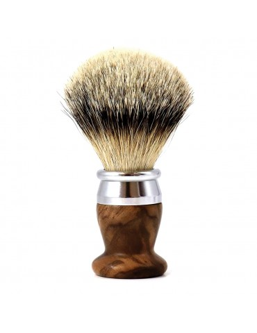 Shaving Brush / Burr Walnut / Interchangeable Head
