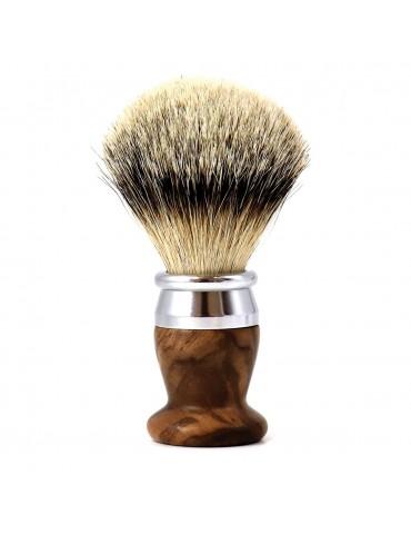 Shaving Brush / Burr Walnut / Interchangeable Head