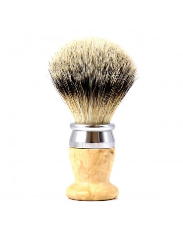 Shaving Brush / Birchwood / Interchangeable Head