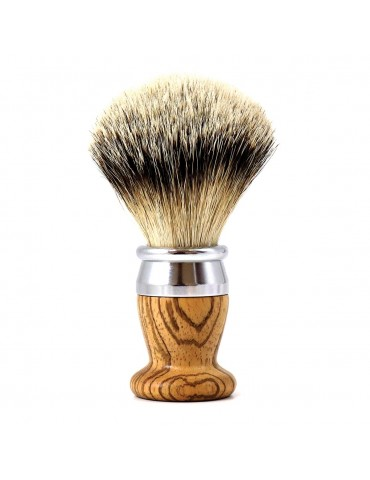 Shaving Brush / Zebrawood / Interchangeable Head