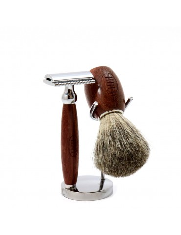 3-part Set Security Razor Gentleman Rugby®