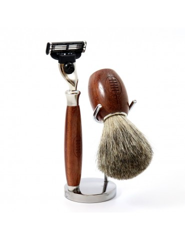3-part Set Mach 3® Razor Gentleman Rugby®