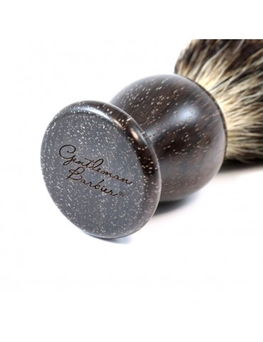 Shaving Brush / Rose Wood / Synthetic Fiber