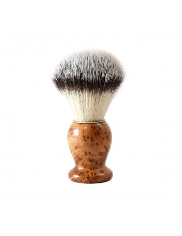 Shaving Brush / Thuja Wood / Synthetic Fiber