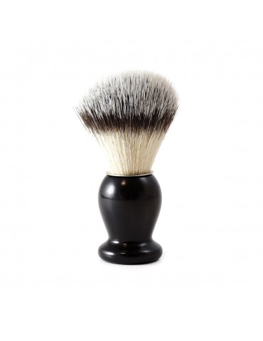 Shaving Brush / Ebony Wood / Synthetic Fiber