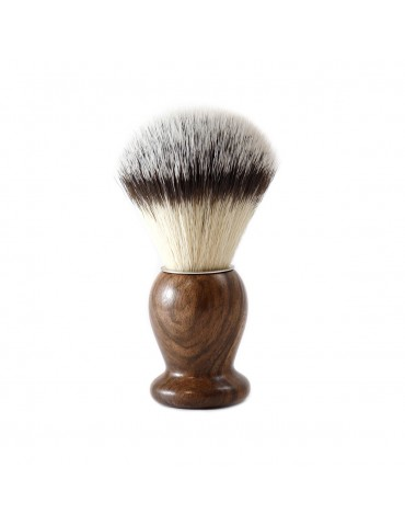 Shaving Brush / Burr Walnut / Synthetic Fiber