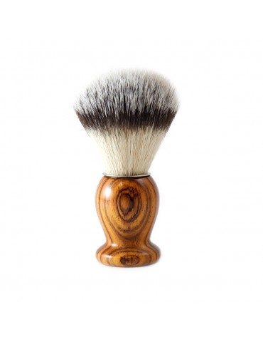 Shaving Brush / Cocobolo / Synthetic Fiber