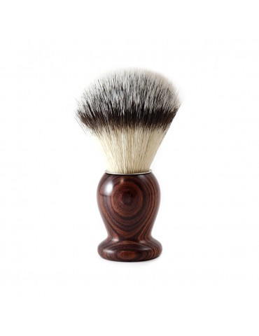 Shaving Brush / Purple Wood / Synthetic Fiber