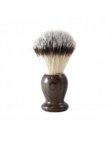 Shaving Brush / Bogwood / Synthetic Fiber