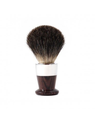 Shaving Brush Bi-Material / Purple Wood