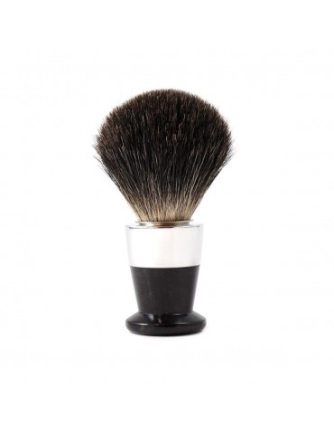 Shaving Brush Bi-Material / Ebony Wood
