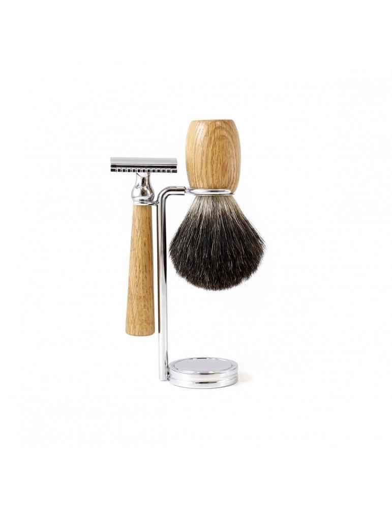 3-Part Shaving Set 'GB' / Safety razor
