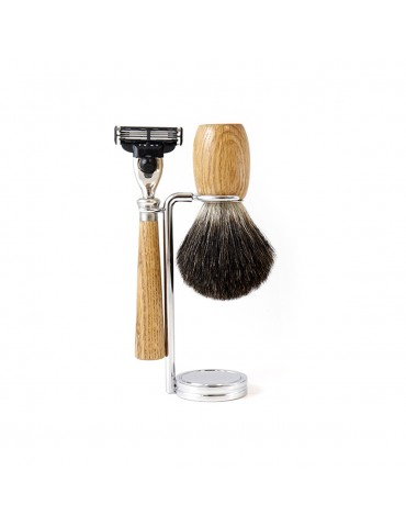 3-Part Shaving Set 'GB' / Mach3® razor