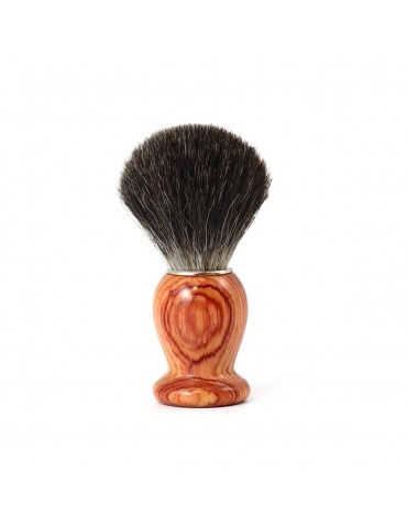 Shaving Brush / Pink Wood / Grey