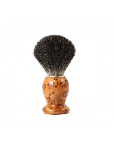 Shaving Brush / Thuja Wood / Grey