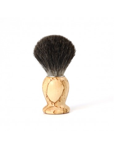 Shaving Brush / Birchwood / Grey