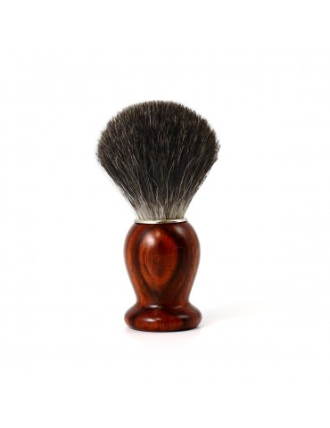 Shaving Brush / Cocobolo / Grey