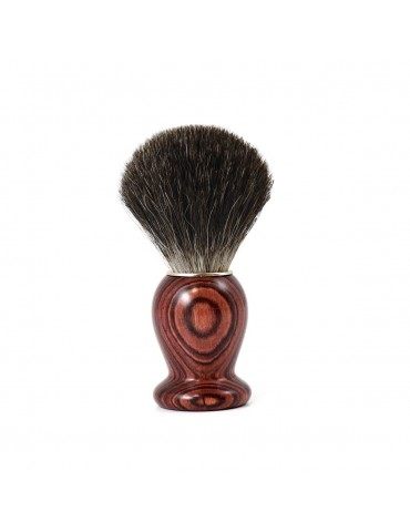 Shaving Brush / Purple Wood / Grey