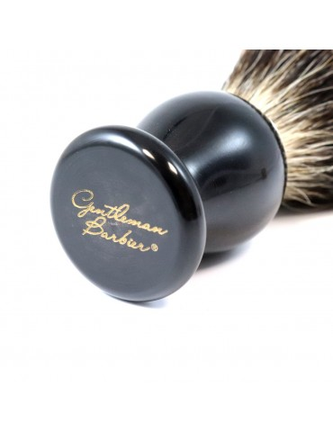 Shaving Brush / Black Horn...