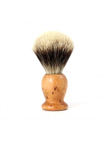 Shaving Brush / Cade Wood / White European