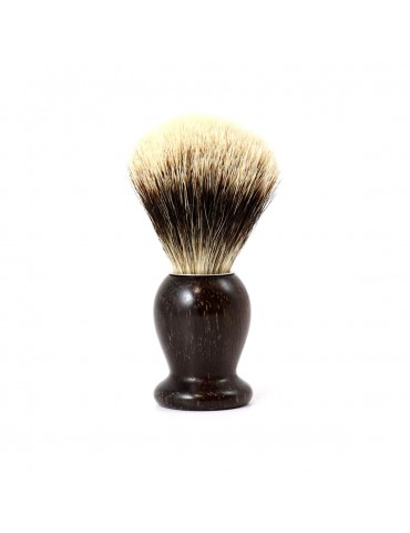 Shaving Brush / Rose Wood / White European