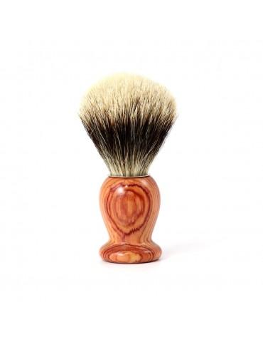 Blaireau de rasage BOIS DE ROSE Blanc Européen 12