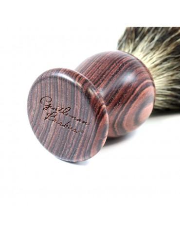 Shaving Brush / Purple Wood...