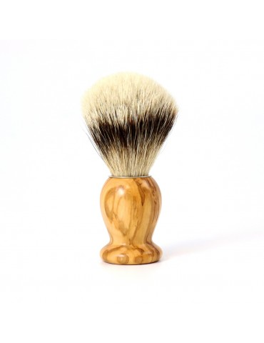 Shaving Brush / Olive Wood / High Mountain