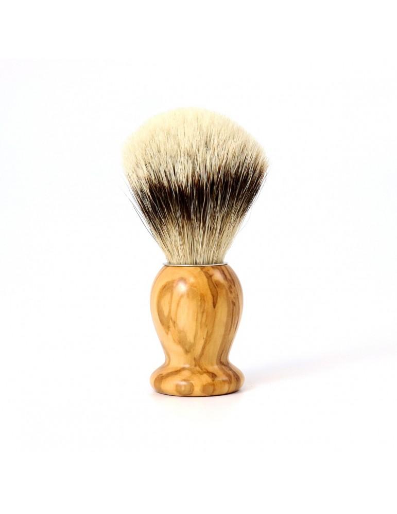 Shaving Brush / Olive Wood / High Mountain