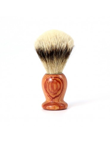 Shaving Brush / Pink Wood / High Mountain