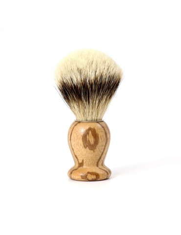 Shaving Brush / Zebrawood / High Mountain