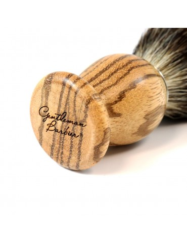 Shaving Brush / Zebrawood /...
