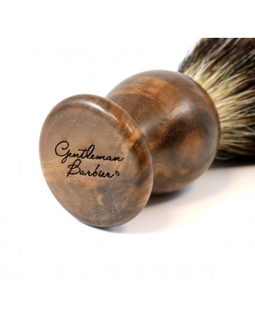 Shaving Brush / Burr Walnut...