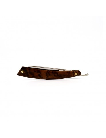 Straight Razor / Burr Walnut