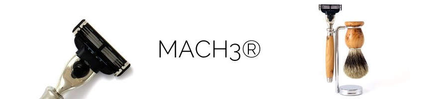 avec Rasoirs Mach3®