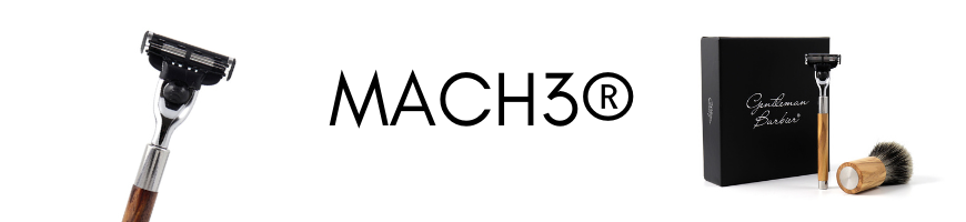 with Mach3® razors