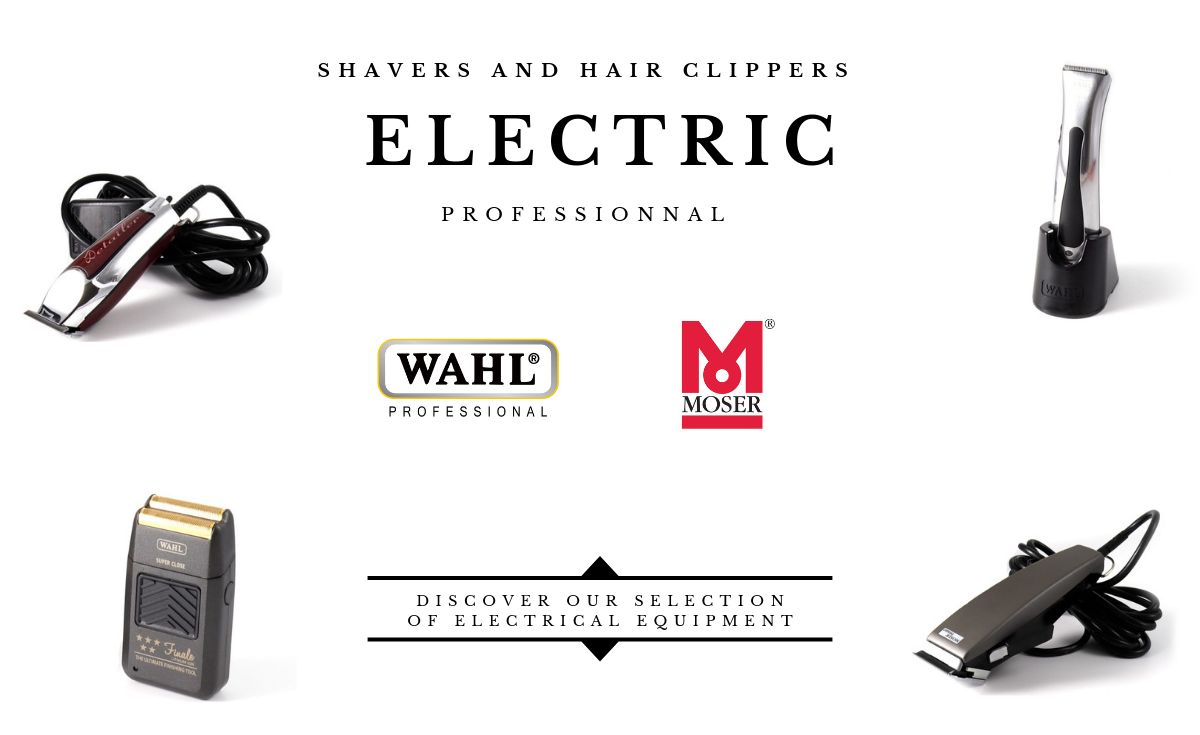 Shaver and hair clipper electric Moser Wahl - Gentleman Barbier